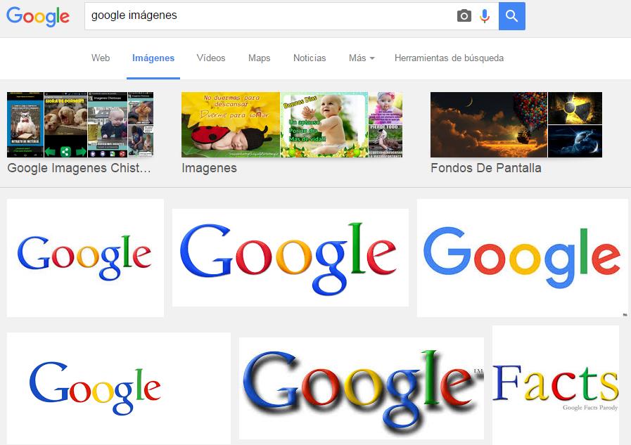 como buscar imagenes gratis en google